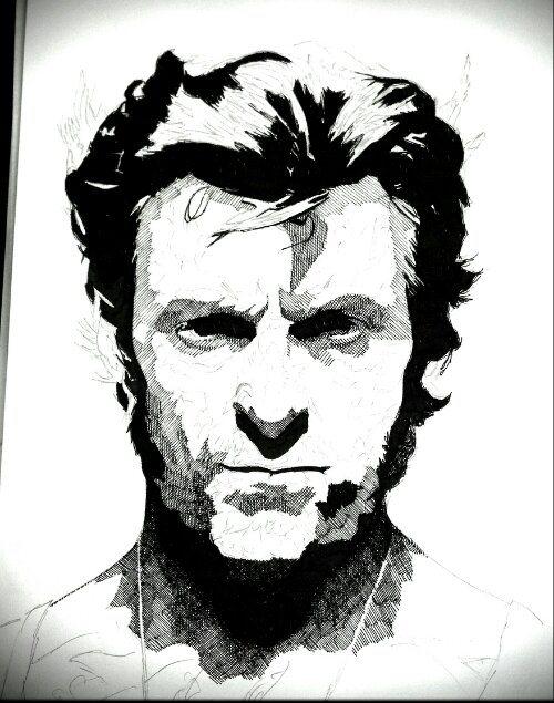 Rik Reimert Drawings Wolverine