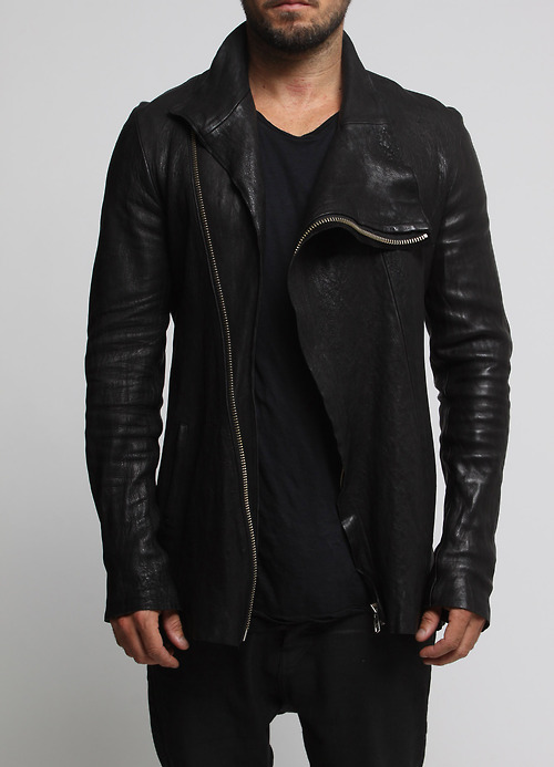 Men's Fashion Leather Jacket Fall 2013