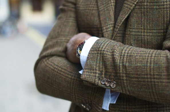 Tweed Suit Fall Fashion for Men