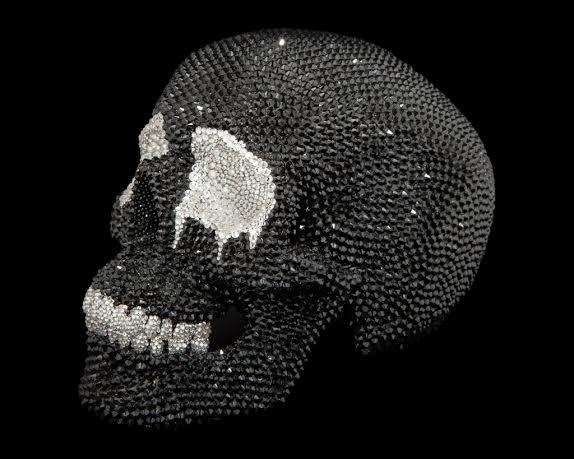 Lucius Swarovski skull Lauren Baker