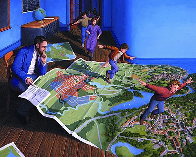 Rob Gonsalves Map