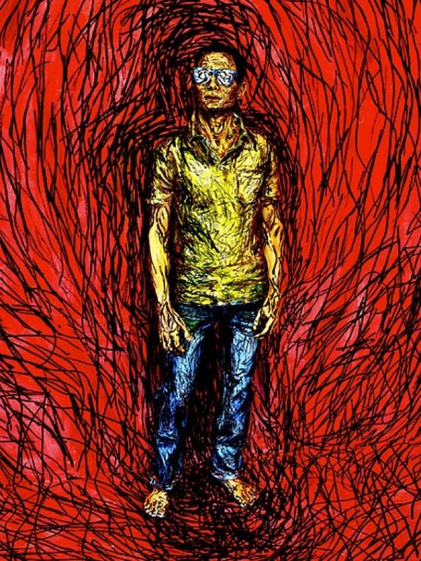 Alexa Meade artwork 2D