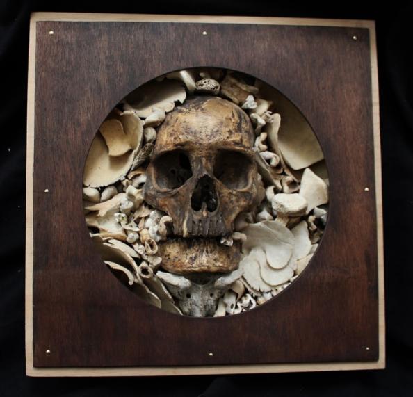 Skull Sculpture Bruce Mahalski