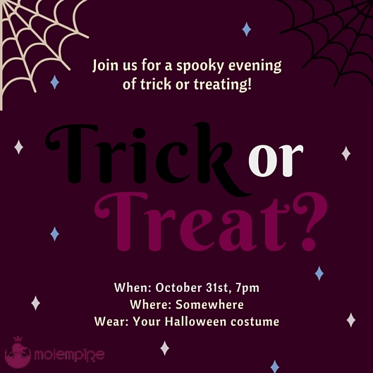 Trick or Treat Invitation