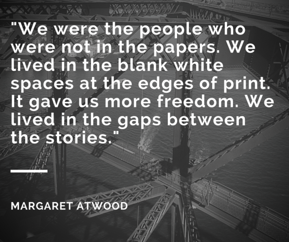 Margaret Atwood quote