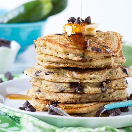 Zucchini Bread Pancake Recipe