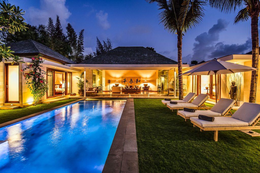 Just a luxury villa in Bali