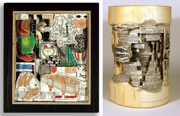 Book Sculptures Brian Dettmer 1