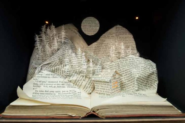 Book Sculptures Su BlackWell 3