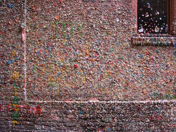 Gum Wall Seattle 2
