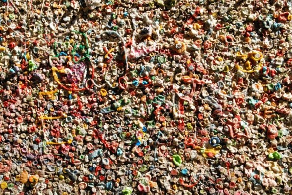 Gum Wall Seattle