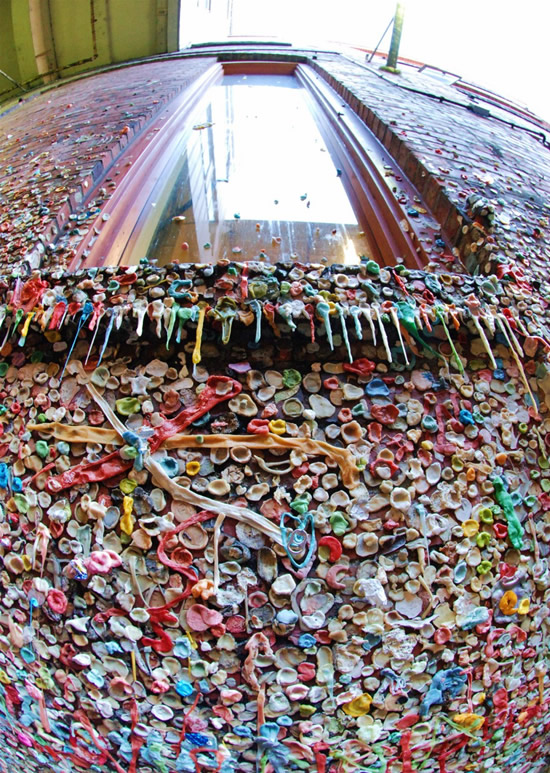 Gum Wall Seattle 1