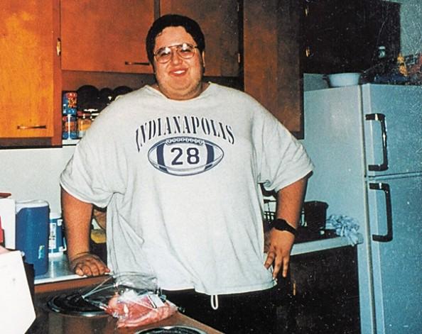 Subway Sandwich Diet Guy Before