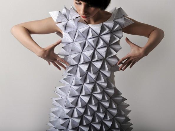 Amila Hrustic Geometric Dresses Platos Collection