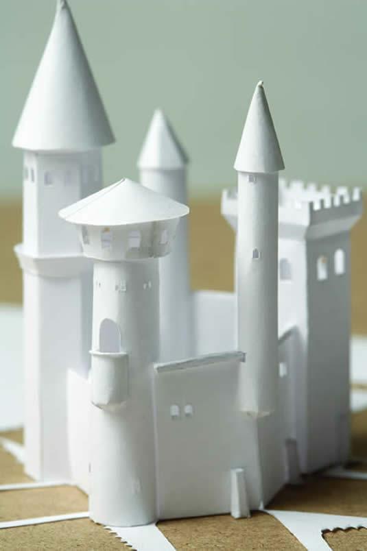 Petter Callesen Paper Art Impenetrable Castle
