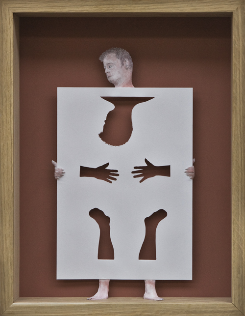 Petter Callesen Paper Art Paperman