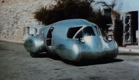 Dick Dastardly's Taste in Cars