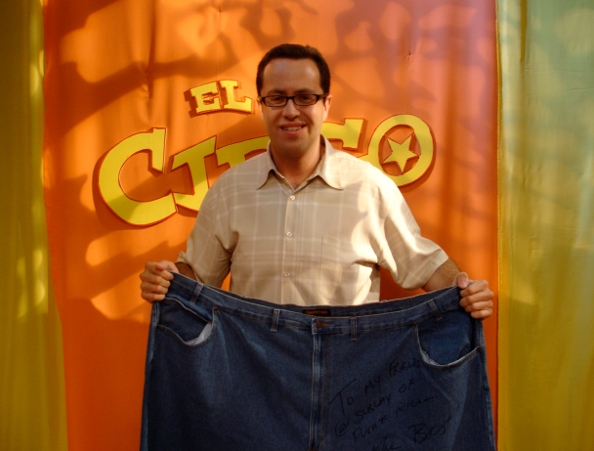 Subway Sandwich Diet Guy Jeans After