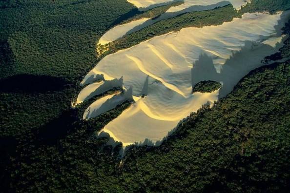 Yann Arthus Bertrand Fraser Island Dune Australia
