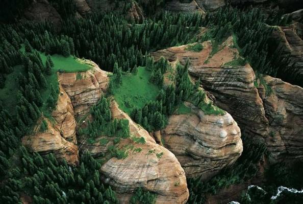 Yann Arthus Bertrand Mountains