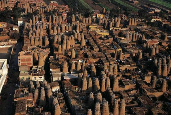 Yann Arthus Bertrand Pigeon Houses Egypt