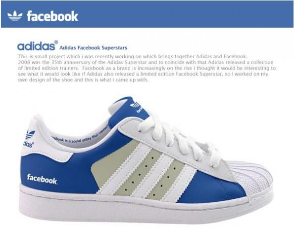 Adidas Superstar Facebook