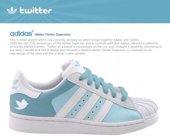 Adidas Superstar Twitter