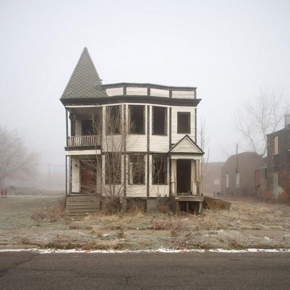 100 Abandoned Houses Kevin Bauman Detroit 1
