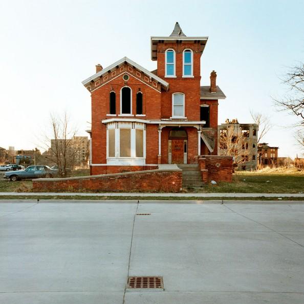 100 Abandoned Houses Kevin Bauman Detroit 7