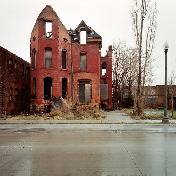 100 Abandoned Houses Kevin Bauman Detroit 9