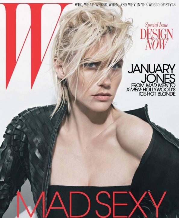 January Jones Mad Men XMen W Magazine May 2011_6