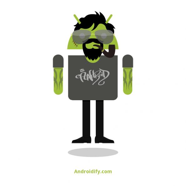 Yke avatar on Androidify