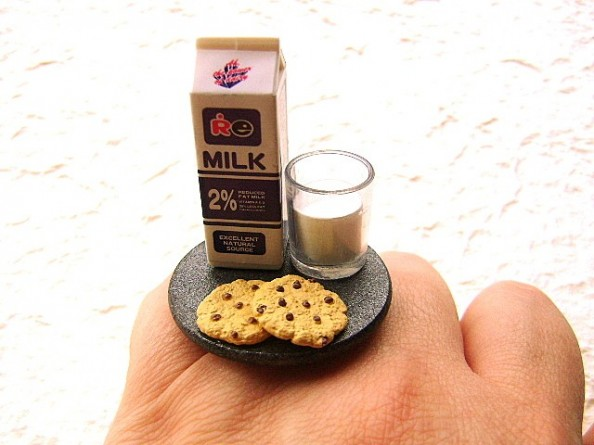 Food rings Souzou Creations Milk And Chocolate Chip Cookies