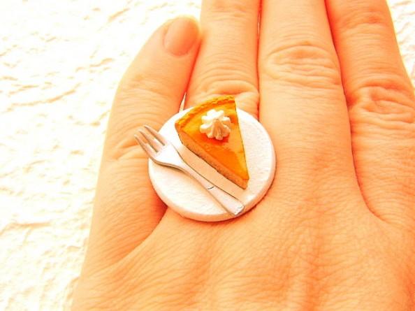 Food rings Souzou Creations Pumpkin Cheesecake Whip Cream Ring