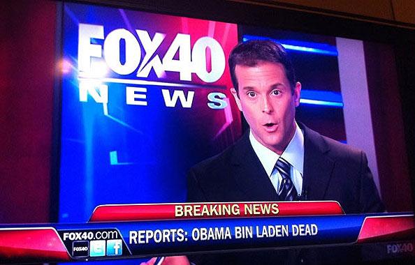 Osama dead on Fox News