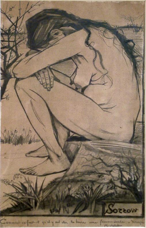 Sorrow by Vincent Van Gogh