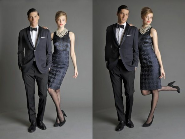 Banana Republic Mad Men inspired  collection 2011 Men and Women