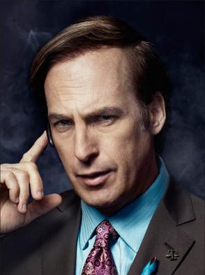 Bob Odenkirk as Saul Goodman Breaking Bad Season 4 Portrait