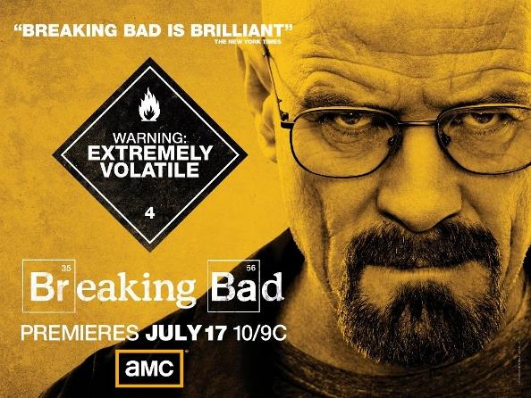Breaking Bad Season 4 Poster