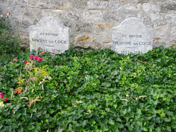 The Graves Of Vincent And Theo