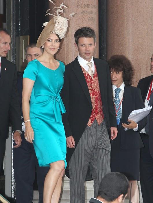 Crown Princess Mary of Denmark at the Monaco Royal Wedding