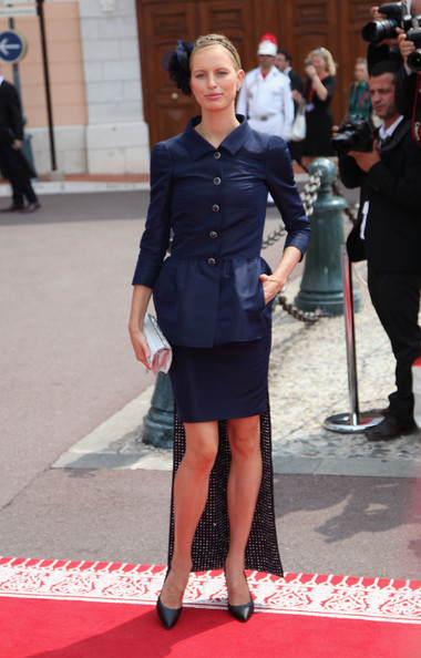 Monaco Royal Wedding Karolina Kurkova Chanel Victoria Silvstedt