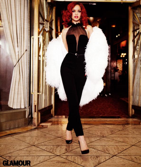 Rihanna for Glamour September 2011