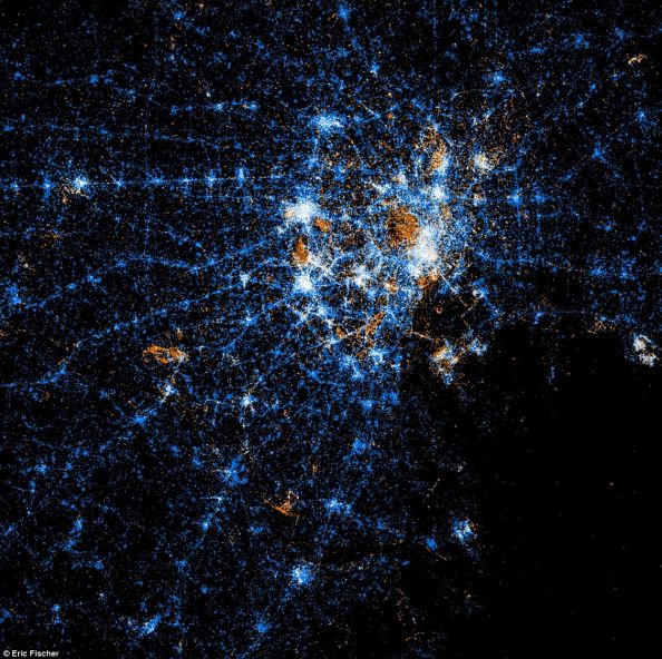 Social Networks Map Of Tokyo