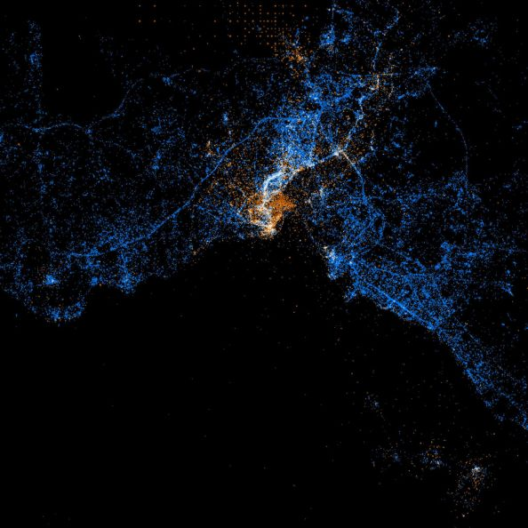 Social Networks Map Of Istanbul