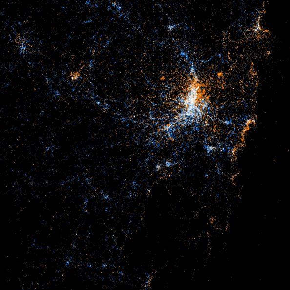 Social Networks Map Of Sydney
