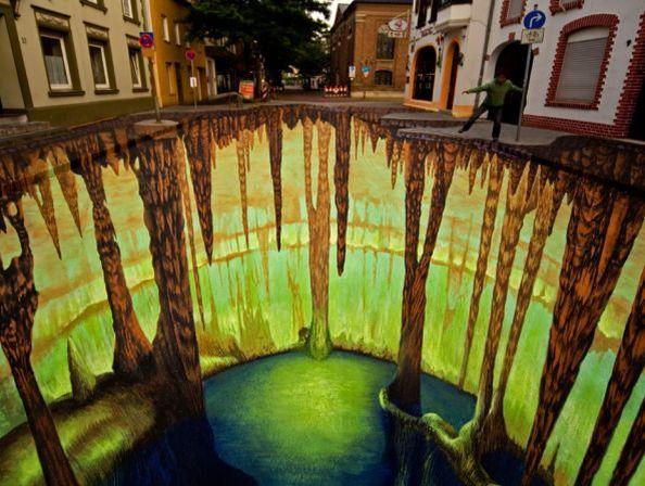 The Cave Geldern Painting Edgar Muller