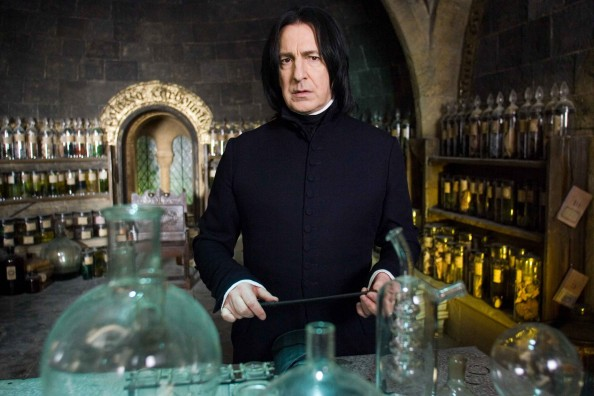 Top 10 Most Memorable Teachers from the Harry Potter series Severus Snape