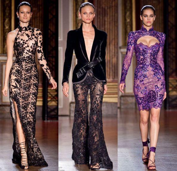 Zuhair Murad Autumn 2011 Haute Couture Sheer Materials