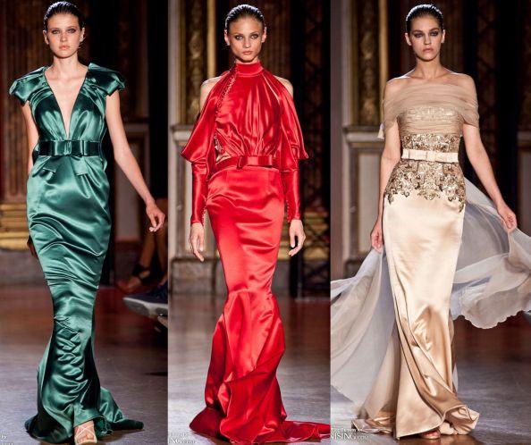 Zuhair Murad Autumn 2011 Haute Couture Silk